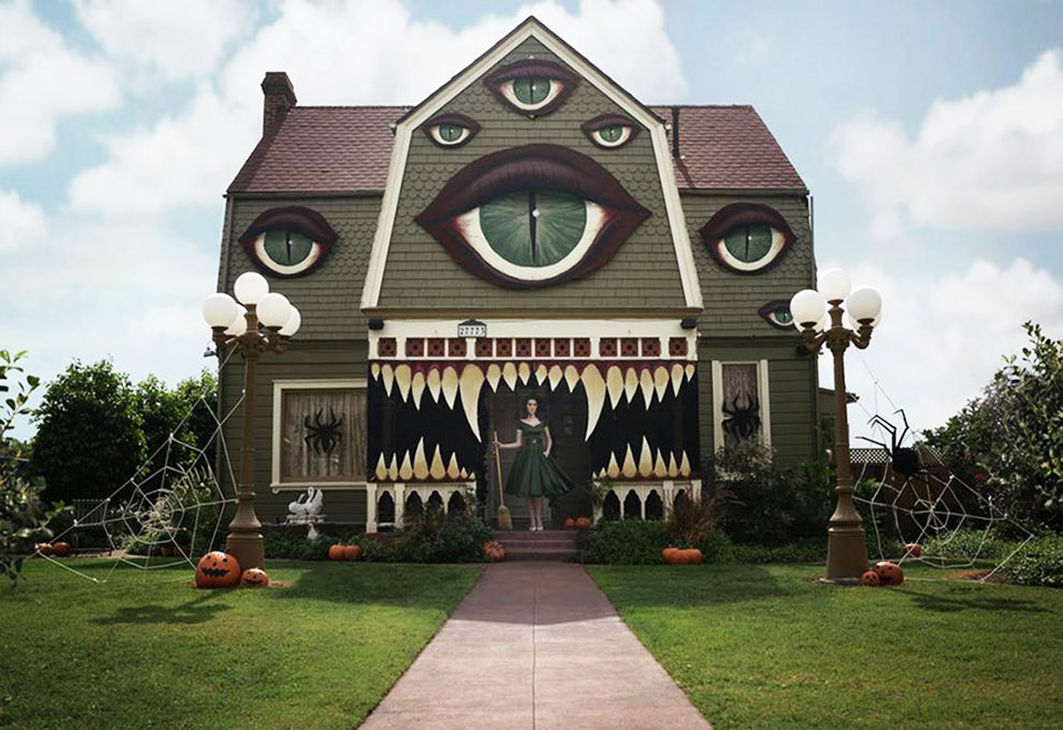 Most Awesome Haunted Halloween House