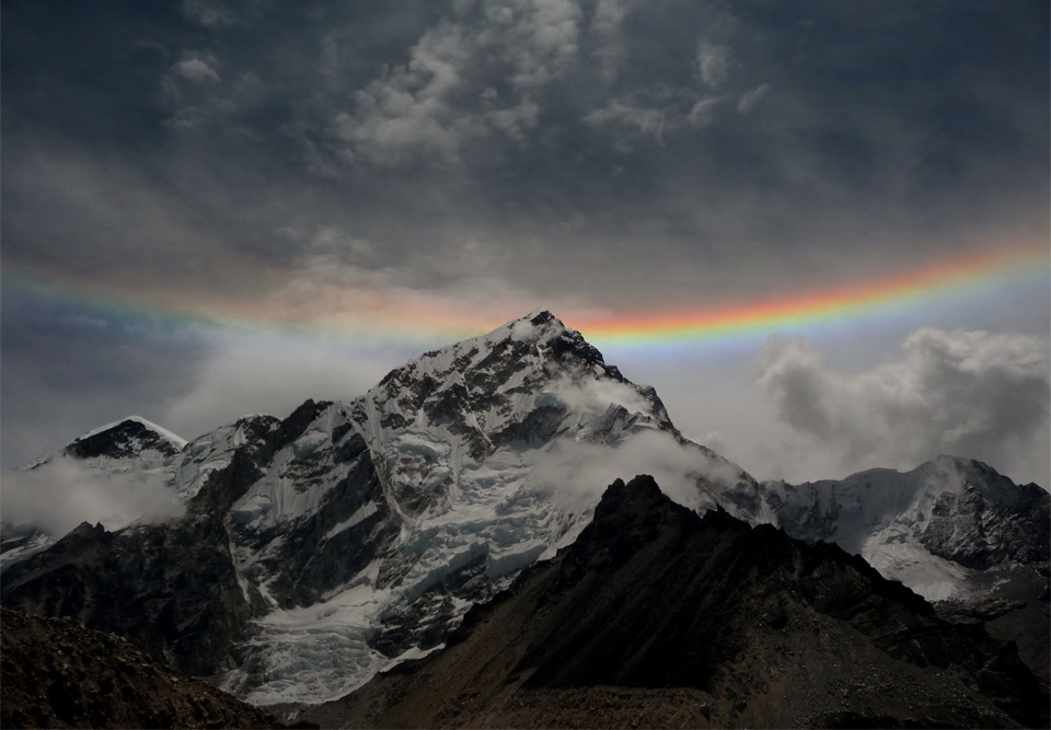 Rainbow Over Mt. Everest