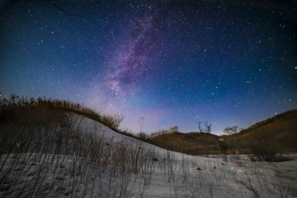 Night Sky Over Partizansk, Russia