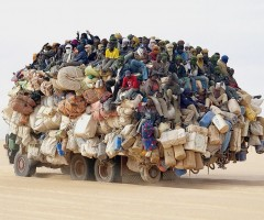 a little bit crowded transport