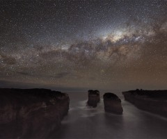 a milky way shadow