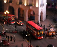 london tilt shift