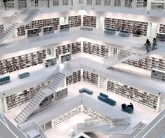 stuttgart modern library, bibliothek 21