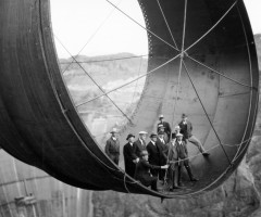 building the hoover dam, 1935