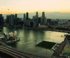singapore floating stadium