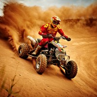 dirt quad racing
