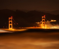 san francisco in the fog