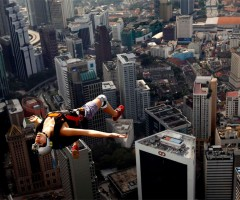 free jump from KL tower, kuala lumpur