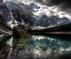 moraine lake, national park alberta, canada