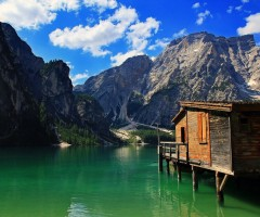 lake house, tyrol, italy
