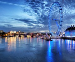 london eye, night experience