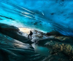patagonian glacier ice cave