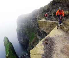 extreme mountain biking