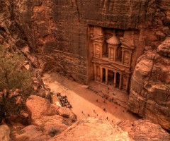the city of petra, jordan