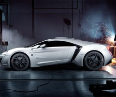 $3.4 million worth w motors lykan hypersport