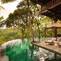 exotic retreat set in forrest, bali
