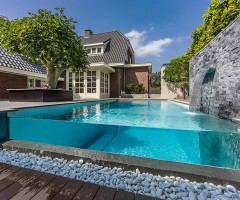 incredible backyard pool design