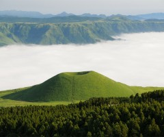 sea of clouds, kumamoto, japan