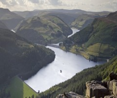 ladybower reservoir, england