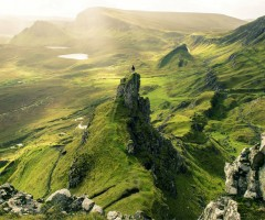 quiraing area, isle of skye