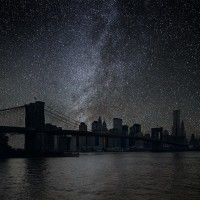 How Would Major Cities Look Like With Lights Off?