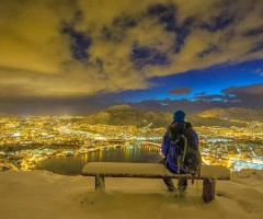 winter in bergen, norway