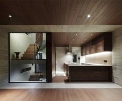 wooden balcony house, tokyo