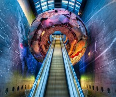 cool london subway station