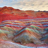 Magical Rainbow Mountains of China