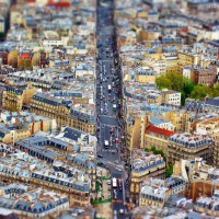 tilt-Shift paris