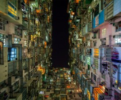 the grid of living in hong kong