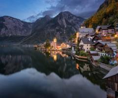 amazing hallstatt village, austria