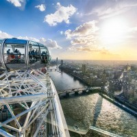 london from london eye