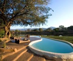 stunning african villa
