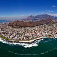 cape town from above, south africa
