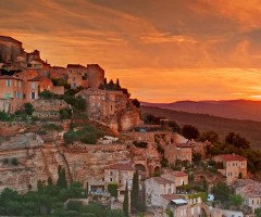 lovely gordes village, southeastern france