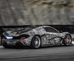 mcLaren p1 with awesome design
