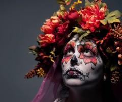 dia de los muertos makeup art