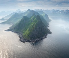 amazing island of senja, norway