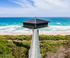 diamond-Shaped sea house