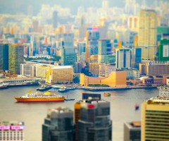 tilt-Shift hong kong