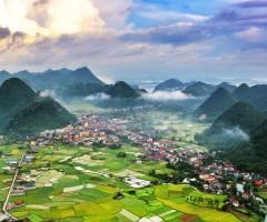 beautiful vietnam valley
