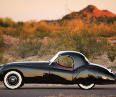 jaguar roadster from 1954