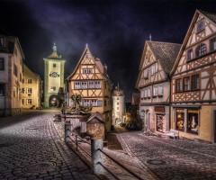 village of rothenburg, germany