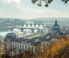 beautiful city of prague, czech republic