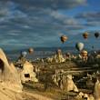 balloons over turkey