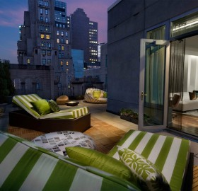 elegant rooftop room new york