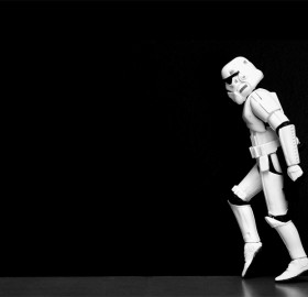stormtrooper moonwalking
