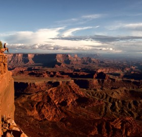 a place to sit, dead horse point utah