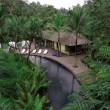 bali resort, deep into jungle